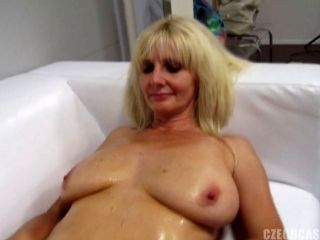 Mature Amateur Tastes Dick At The Casting