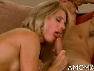Blonde Mature Babe Adores Sucking Young Cocks And Swallowing Load