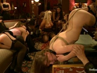 Kinky BDSM Session with Tattooed Babe