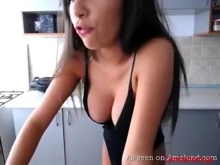 Russian Hottie Shows Off Her Tight Ass And Tits
