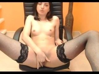 18Yo Teen Spreads Legs Wide 2