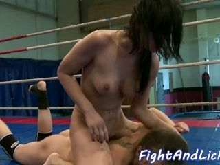 Eurobabe Pussy Fingered After Fighting (3)