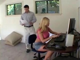 Secretary Plugged Hard, Part1