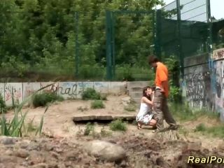 Young German Couple Public Sex (4)