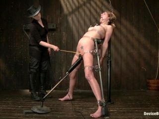 Horny chick is all about BDSM here