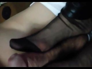 Chinese Stocking Footjob (2)