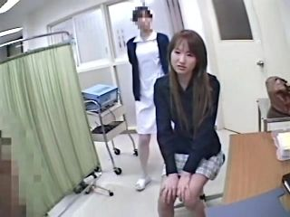 Asian Girl Gets Pussy And Ass Slits On Medical Voyeur Porn (2)
