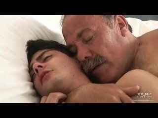 Old Latin Daddy Fuck Twink