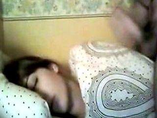 Drunk Sleeping Girl Facial