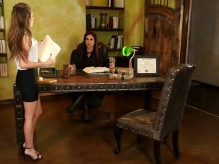Kimmy and Jaclyn are having some pussy licking action on the table