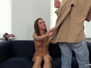 Teen Foxy at casting
