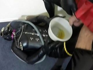 Tv Cd Pissing And Gas Mask Pvc Fetish