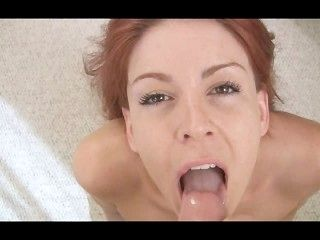Submissive Redhead Gets Off On Painal
