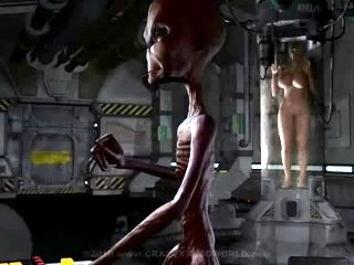 XXX loco mundo 3D Alien Abduction Toon Sex