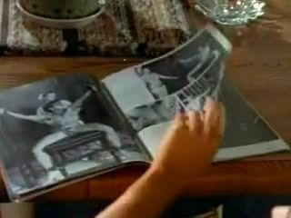 Woman Is Reading A Dirty Magazine.