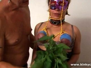 Punishment With Nettles And Orgasm (2)