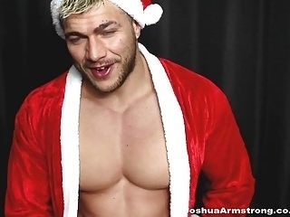 SEXY SANTA WANKS FOR XMAS (2)
