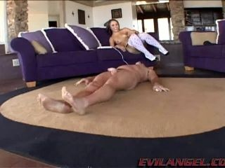 Attractive Brunette With Small Tits Gets Creampie Facial After Getting Gangbanged