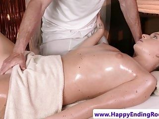 Euro Massage Babe Rimmed Before Doggystyle (3)