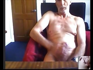 Horny daddy Nick cums for young pussyboy