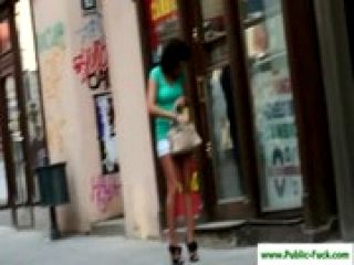 Public-Fuck.com - Teen sluts love to fuck in public 13