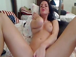 Hot Sexy Babe Dildoing And Fingering Her Pussy (2)