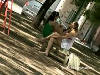 Public Nudity Flashing Busty Ex-Girlfriend Naked On Streets
