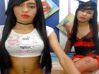 Two Nasty Tranny Fuck Anal Until Cum (8)