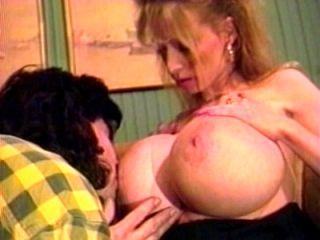Big-Boobed Whore Gets Horny Slit Licked