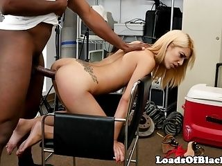 Petite Amateur Screwed By Black Agent (3)