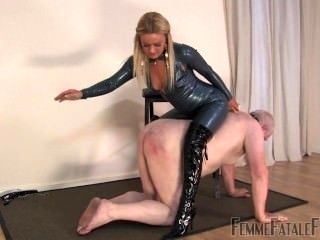 Ownership Cute White Fat Daddy Slave Mistress