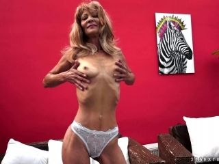 Masturbating Granny Slut Joined By A Stud To Bang Her Cunt