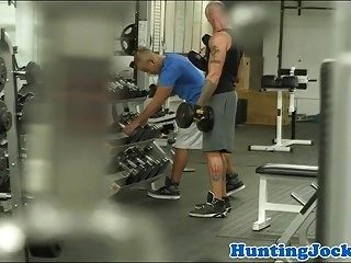 Pulled Fitness Jock Assfucked At The Gym (4)