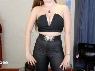 Leather Jeans   Crop Top Clubbing Outfit  OOTD.mp4