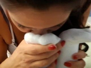Lesbian Foot Sniffing (3)
