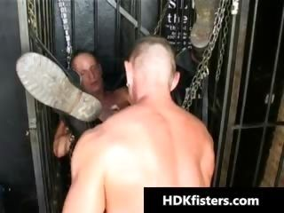 Tiefen Gay Ass Fisting Hardcore Porno Part2