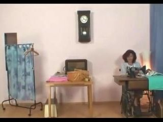 GrannyBet - Sewing granny jumps on fresh cock (3)