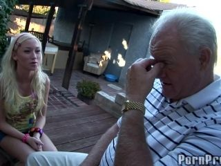 Old Guy Big Dick Replenished Hardcore By Hot Ass Blonde (2)