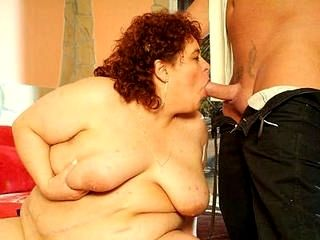 Redhead Fatty Mouthing My Prick