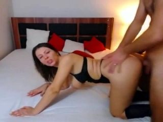 Wild Mature Couple Having Wild Sex on Bed (20)