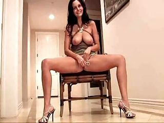 Ava Addams Owns Her Soaking Pussy By Fat Vibrator   Tomi888