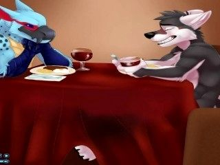 FANCY FOOTWORK furry yiff porn animation