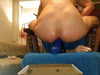Slow And Deep Dildo Anal Penetration