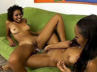 Pretty Dykes Love Playing With Their Toy