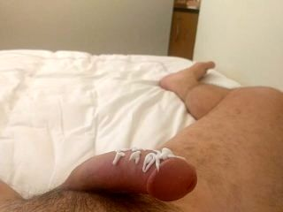Lotion On For A Nice Masturbation