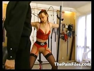 Rough Whipping And Slave Sex Of Tied Up Amateur Submissive I