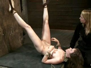 She Is Suspended From Her Feet And Tortured By Her Master
