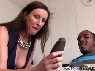 Lara Latex Quenches Her Hunger For Black Cock (14)