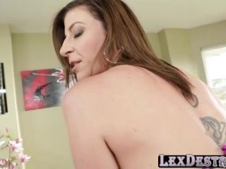 Sarah Jay battles Lex big cock with her big boobs to see who is superior (2)