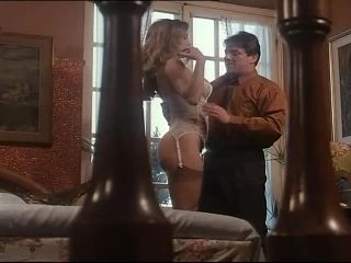 Hot Sex for Blonde Babe in Lingerie in Vintage Italian Porn Movie